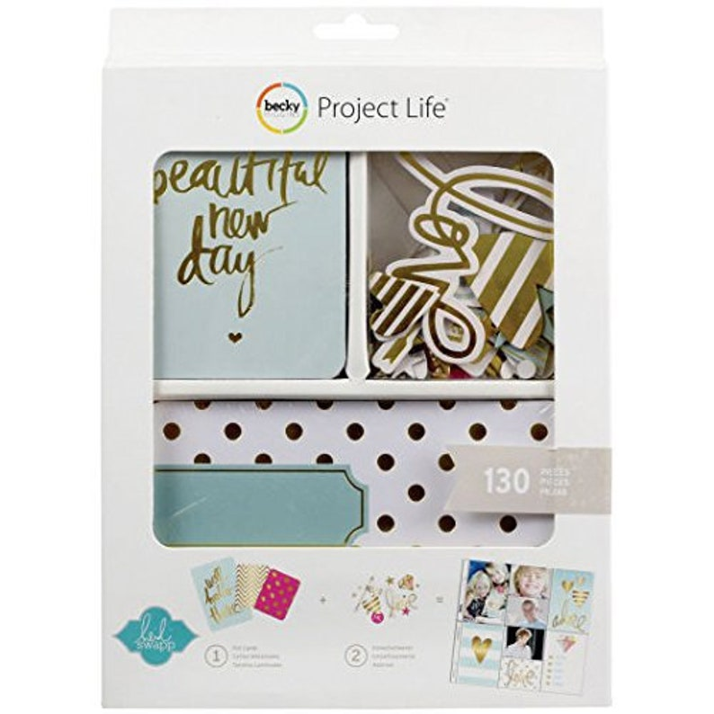 Project Life  Foil Value Kit 130 Cards image 0