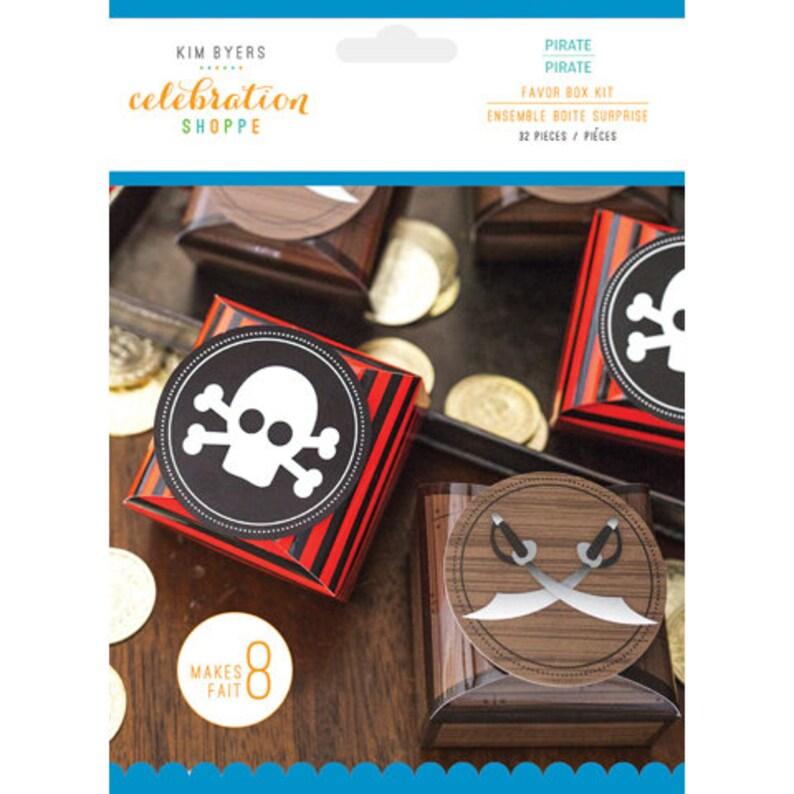 Pirate Party Favor Box Kit by Kim Byers Celebration Shoppe