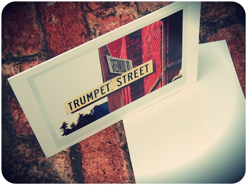 Trumpet card Gifts for Trumpet Players Music teacher card image 0