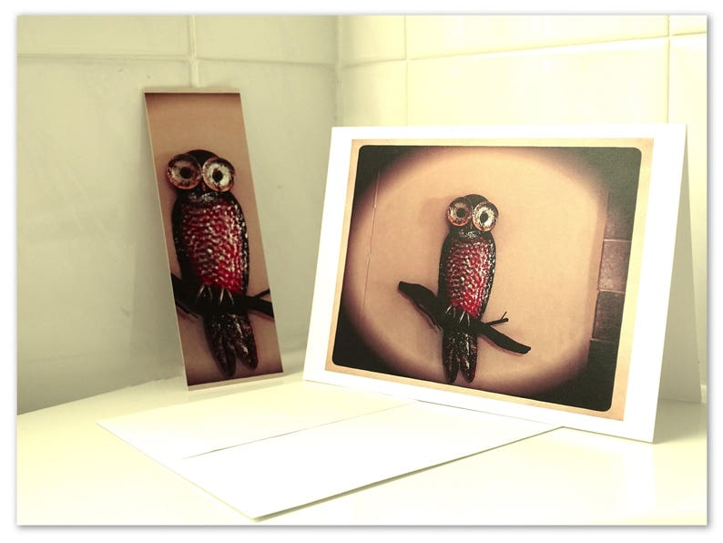 Owl card Owl birthday card Birthday card owl Owl cards Owl image 0