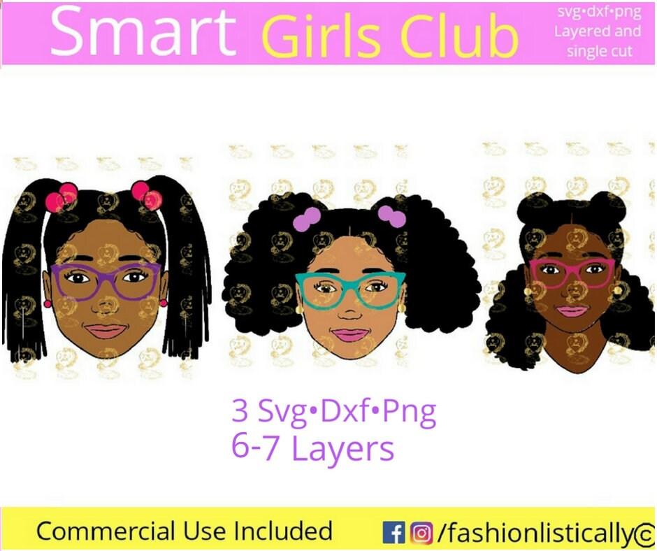 Download African American girls svg cute kids svg black girl svg ...