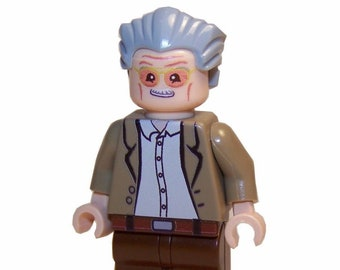 LEGO Custom Printed - STAN LEE - Marvel Universe Comic Books Minifigure