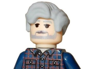 LEGO Custom Printed Star Wars - GEORGE LUCAS - Minifigure