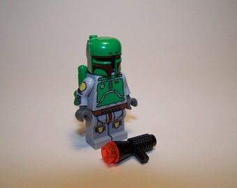 Lego Custom Printed - Cloud City BOBA FETT - 10123 Star Wars Minifigure