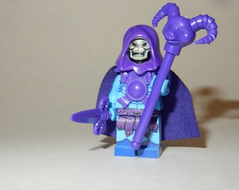 LEGO Custom Printed SKELETOR Masters Of The Universe MOTUC Minifigure