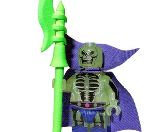 LEGO Custom Printed - SCAREGLOW - Masters Of The Universe MOTUC Minifigure