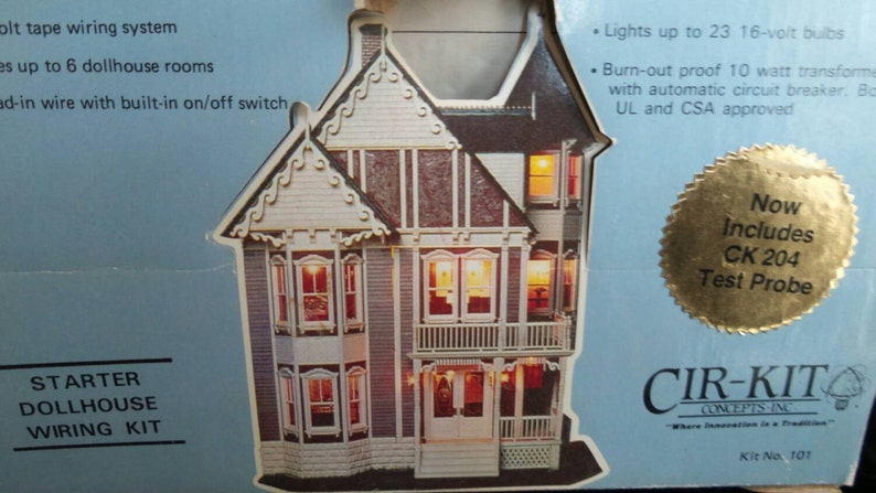 Terrific Dollhouse Wiring Kit By Cir Kit Conceptsc Etsy Wiring Digital Resources Millslowmaporg
