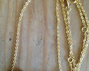 Cheyenne Necklace in Gold or Silver