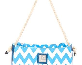 Chevron Tote Handbag