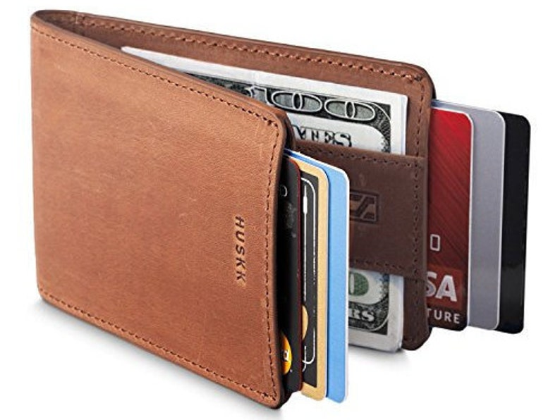 43613f2c73a87 Slim Mens Wallets for Men - RFID with Strap Money Clip - Premium Quality  (One Size, Light Brown-LIMITED)