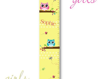 Personalized Kids Canvas Height Chart