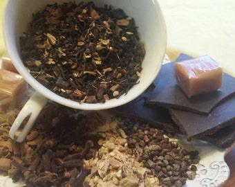 Spicy Chocolate Caramel Chai, 2oz loose or 15 teabags