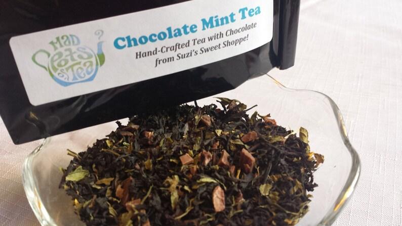 Chocolate Mint Tea image 0