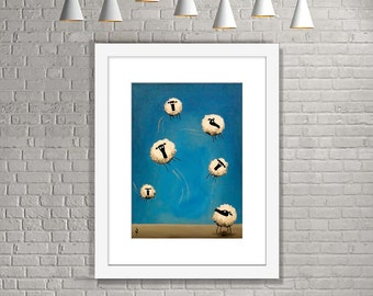 """If Only Ewe Can Fly"" (Limited Edition Print)"