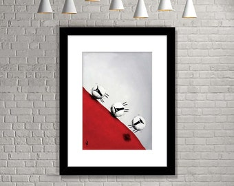 """Quickest Way Down"" (Limited Edition Print)"