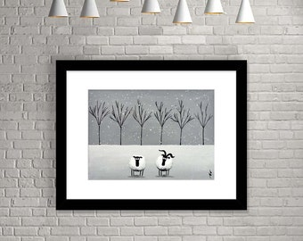 """""""Winter Date"""" (Limited Edition Print)"""