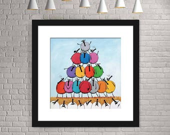 """""""Tower Of Baabel"""" (Limited Edition Print)"""