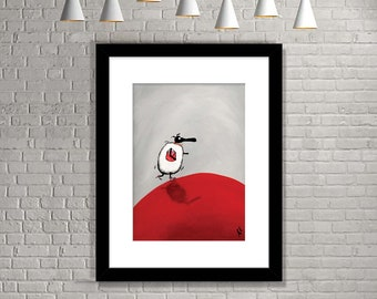 """Jimmy Ch-ewe"" (Limited Edition Print)"