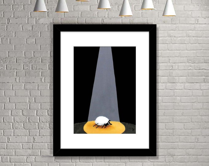 """Featured listing image: """"Drama Queen"""" (Limited Edition Print)"""