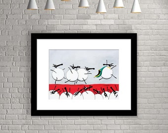 """Ewe-Sain Bolt"" (Limited Edition Print)"