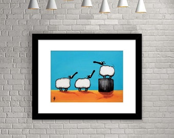 """New Sheep On The Block"" (Limited Edition Print)"