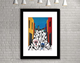 """""""Day Of Baa Dead"""" (Limited Edition Print)"""