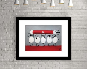 """Ewe-Tube"" (Limited Edition Print)"