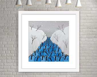 """Winter Blues"" (Limited Edition Print)"