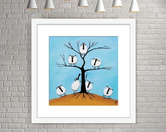 """Ewe Tree"" (Limited Edition Print)"