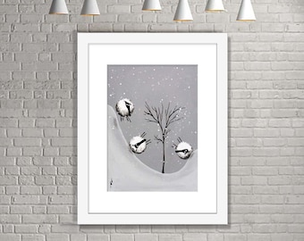 """Snowball"" (Limited Edition Print)"