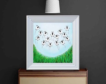 """Spring Has Sprung"" (Ready Framed) Original"