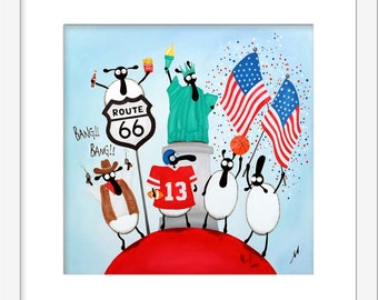"""""""Ewe.S.A"""" (Limited Edition Print)"""