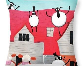 Home Sheep Home Cushion