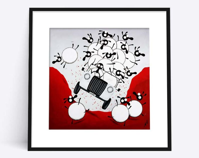 """Lamb Rover"" (Limited Edition Print)"
