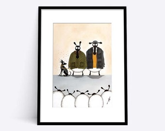 """""""Baarbour"""" (Limited Edition Print)"""