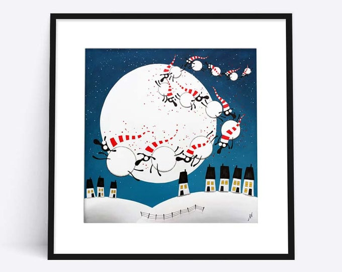 """""""Dreaming Of Ewe Tonight"""" (Limited Edition Print)"""