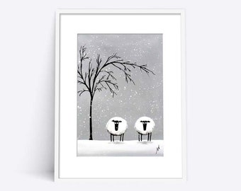 """""""White Company"""" (Limited Edition Print)"""