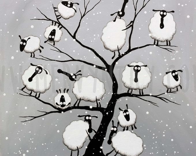 "Featured listing image: ""Cottonopolis"" Original Painting"