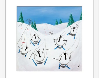 """Snow Patrol"" (Limited Edition Print)"