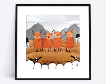 """Scottish Locals"" (Limited Edition Print)"