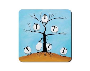 Ewe Tree Coaster