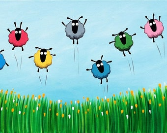 """Spring Has Sprung"" Original Painting"