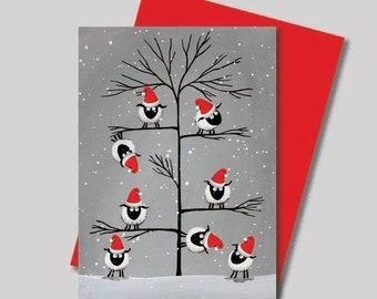 Mervs Sheepish Christmas Cards Bundle OFFER