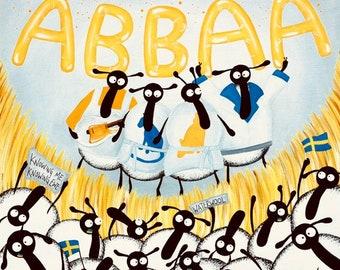 """Abbaa"" Original Painting"