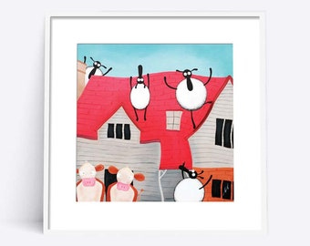 """Home Sheep Home"" (Limited Edition Print)"