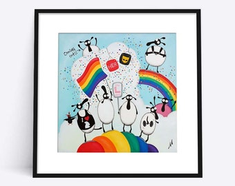"""""""Gays And Baasexuals"""" (Limited Edition Print)"""
