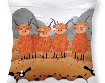 Scottish Locals Cushion