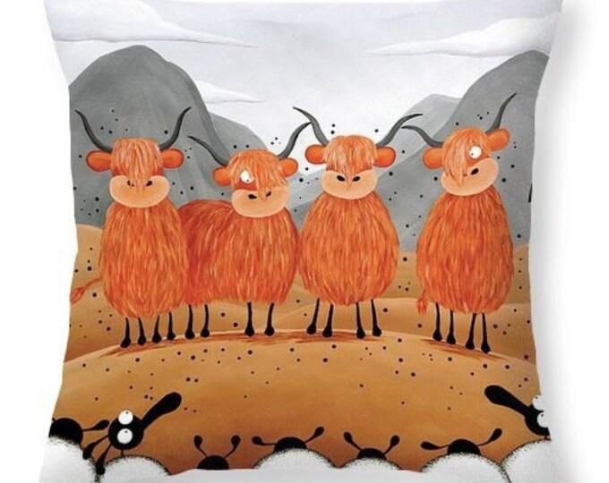 Featured listing image: Scottish Locals Cushion