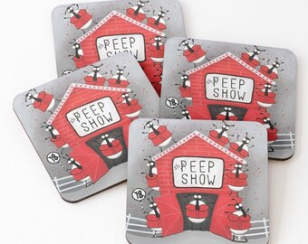 Sheep Show Coaster