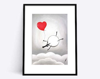 """Falling For Ewe"" (Limited Edition Print)"
